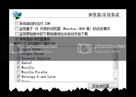 IDM(Internet Download Manager)  下载软件支持多种浏览器